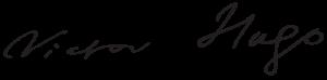 signature Victor Hugo