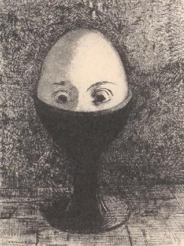 l'oeuf - Odilon Redon
