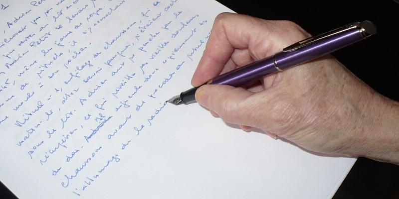 atelier d'écriture